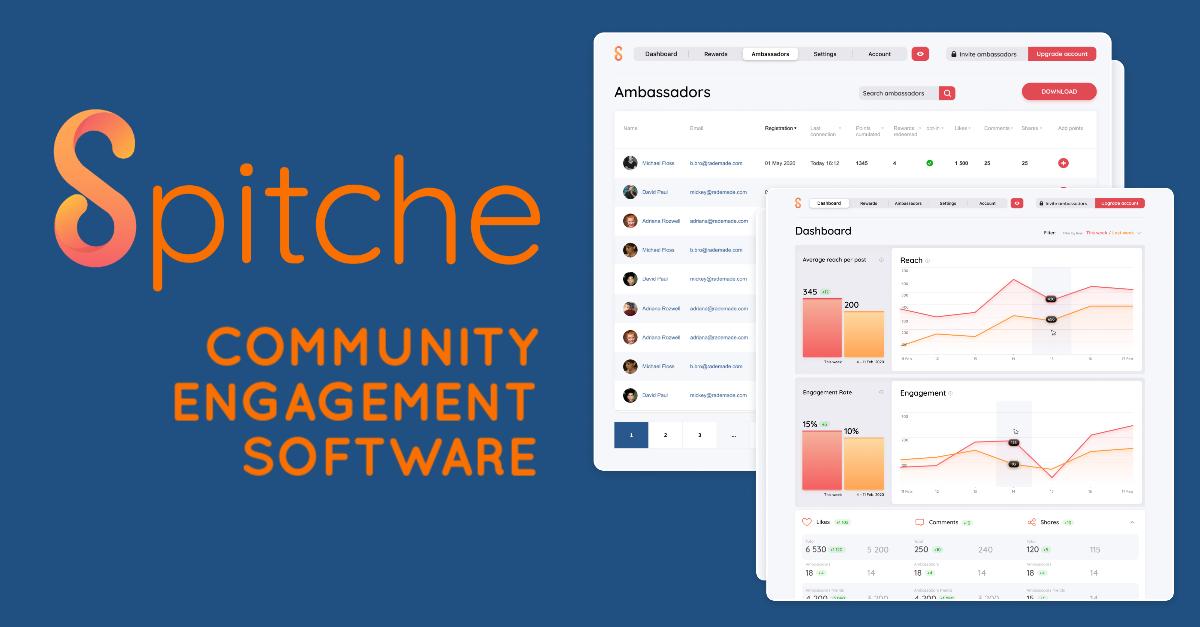 Spitche community engagement