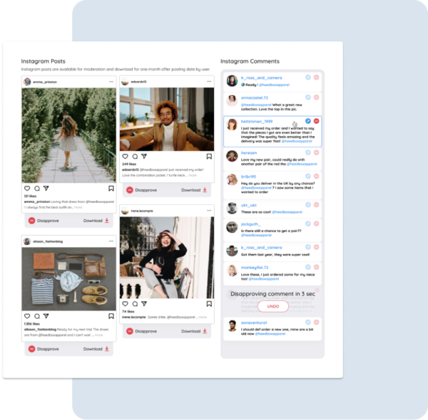 user generated content spitche